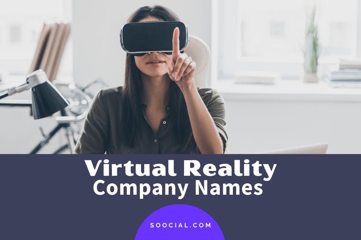 Virtual Reality Company Names