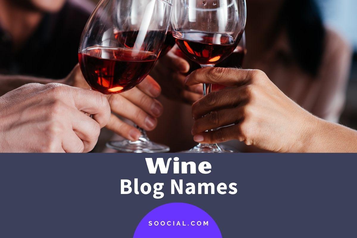 Wine Blog Names