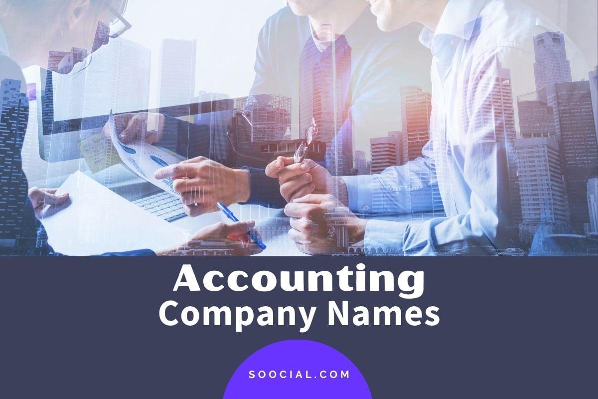 Accounting Company Names