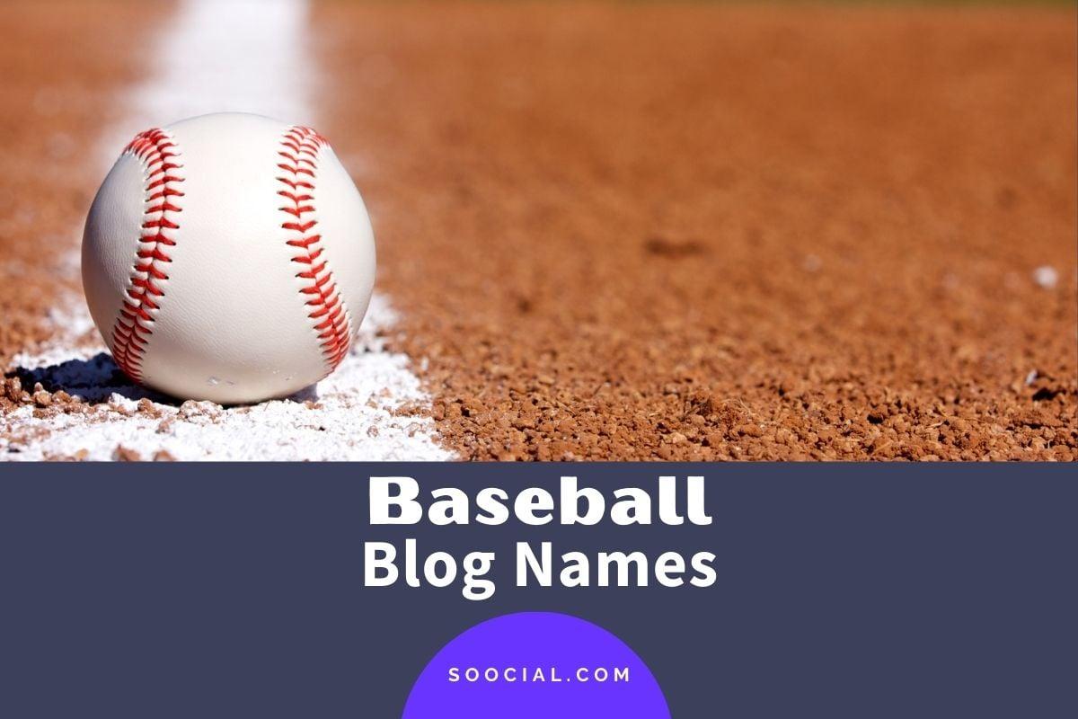 Baseball Blog Names
