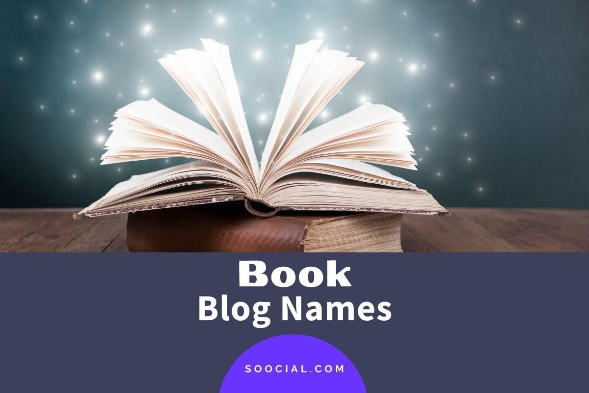 Book Blog Names