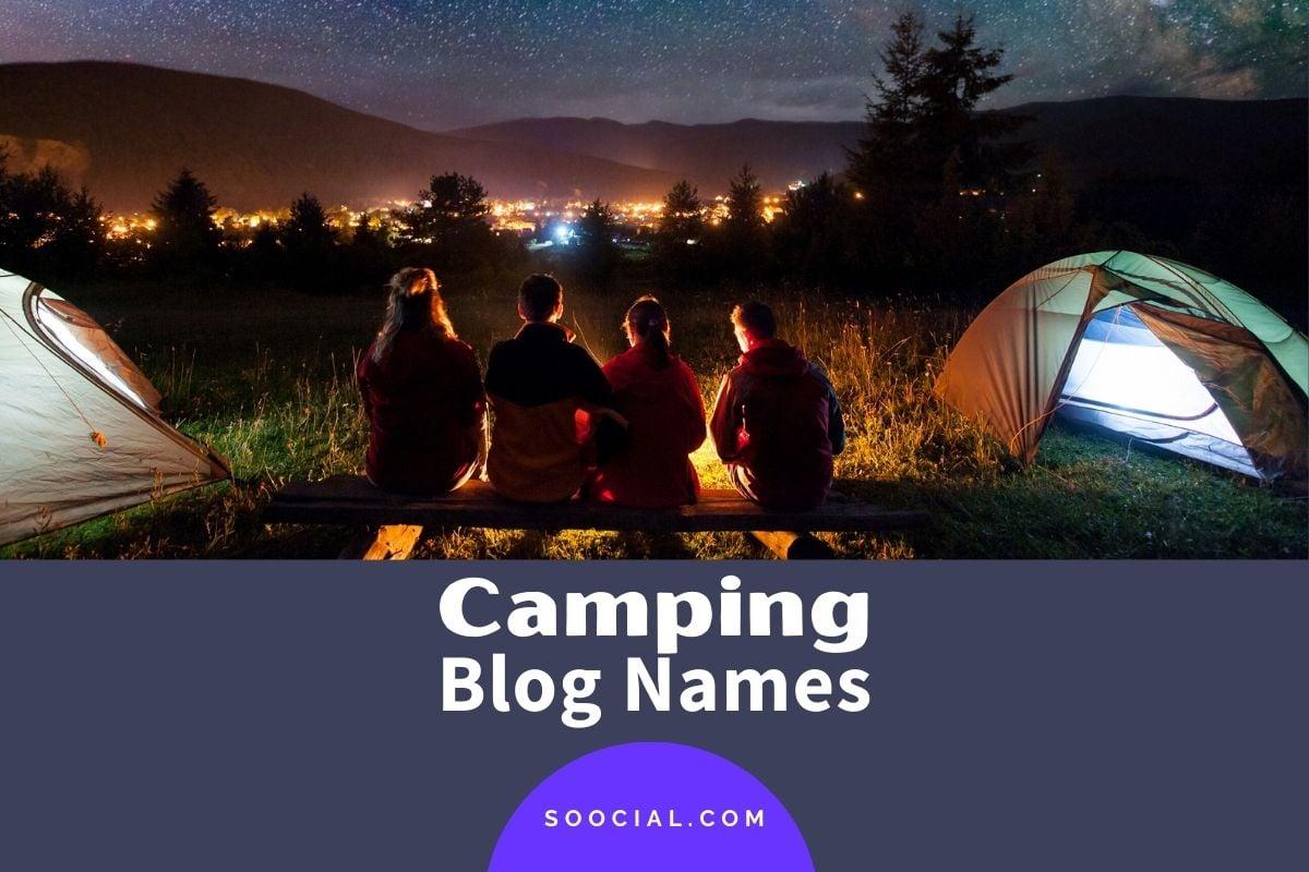 Camping Blog Names