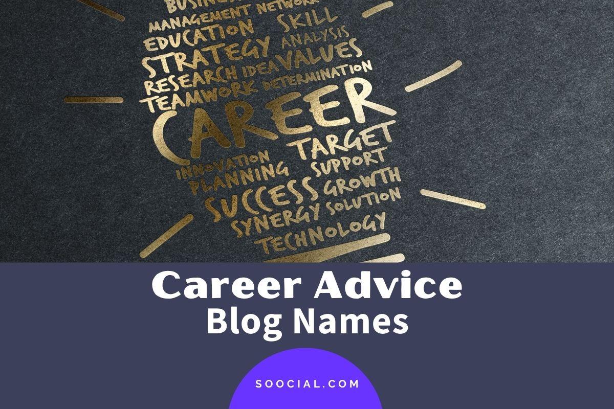 Career Advice Blog Names