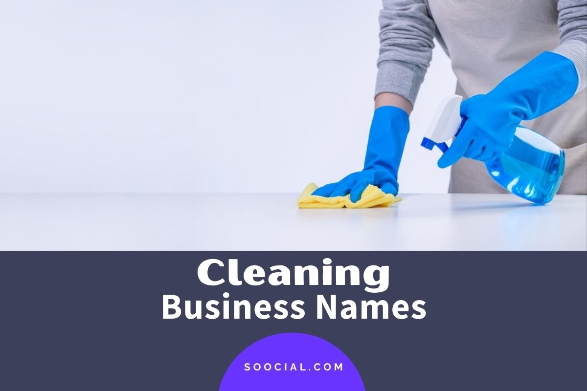 Cleaning business names