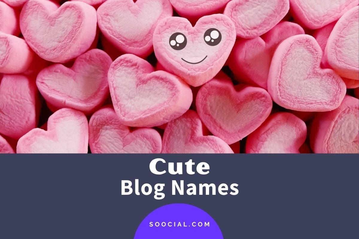 Cute Blog Names