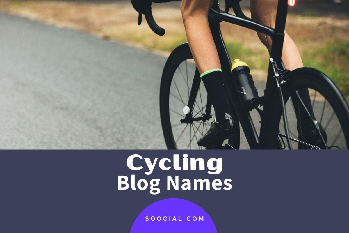 Cycling Blog Names