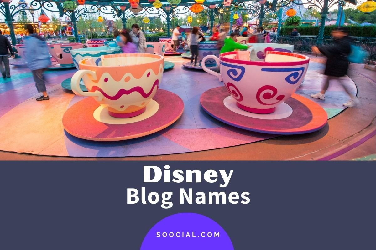 Disney Blog Names