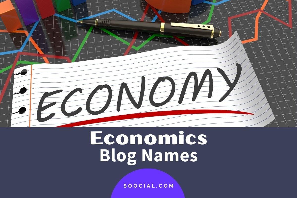 Economics Blog Names