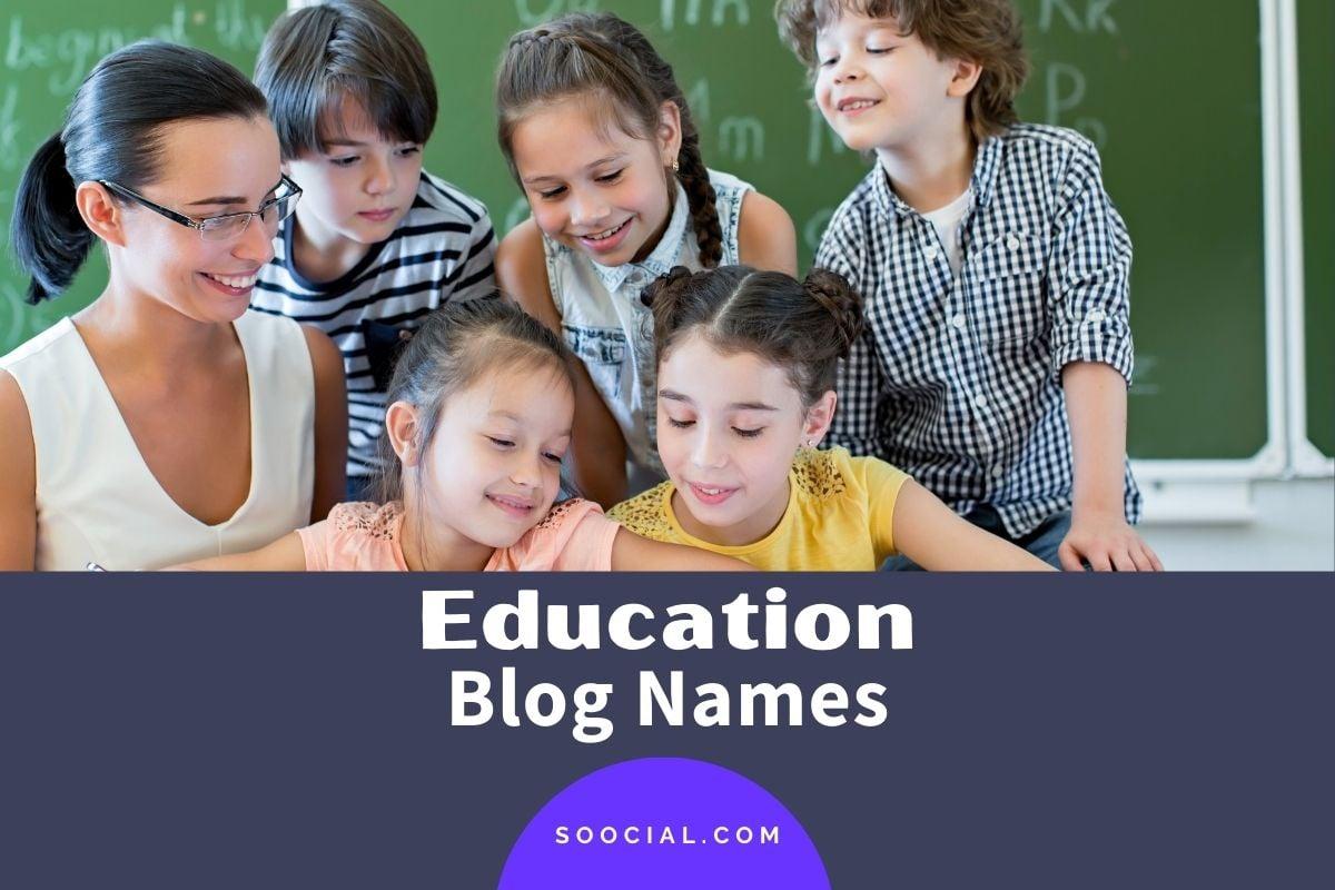 Education Blog Names