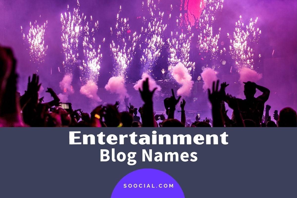 Entertainment Blog Names