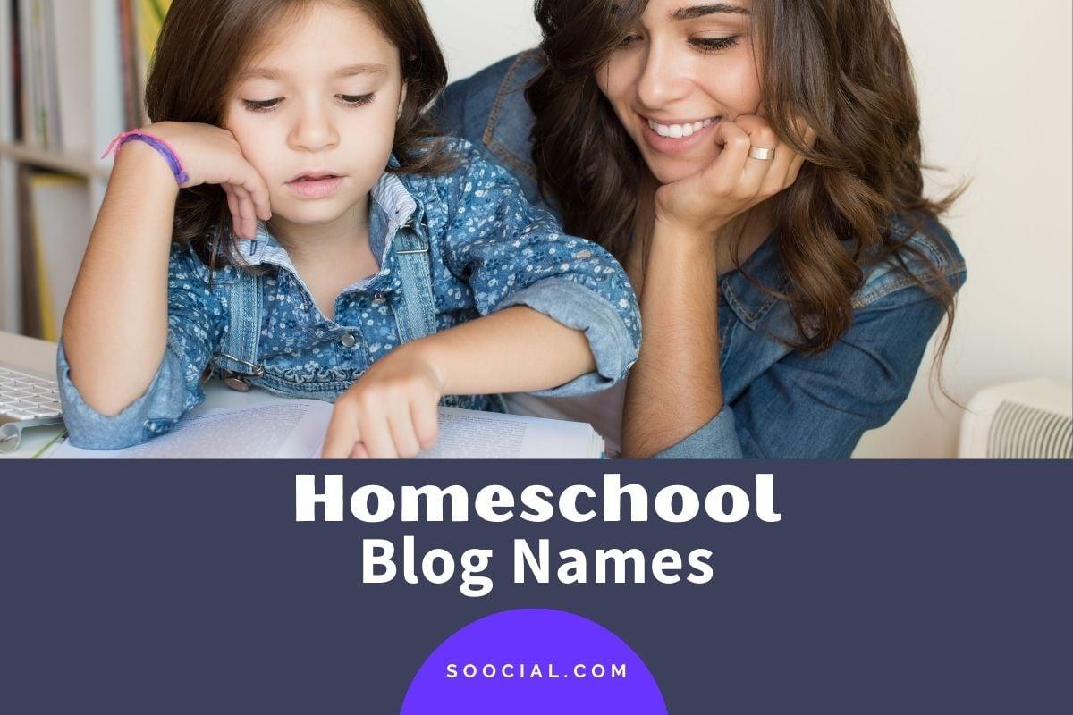 Homeschool Blog Names