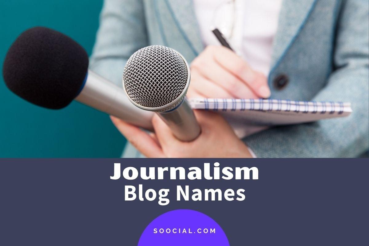 Journalism Blog Names