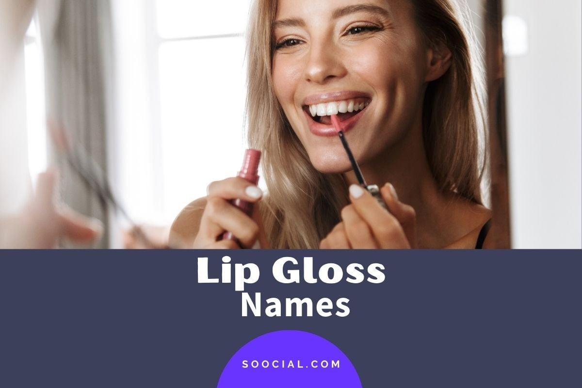 Lip Gloss Names