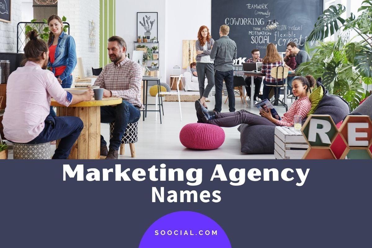 Marketing Agency Names