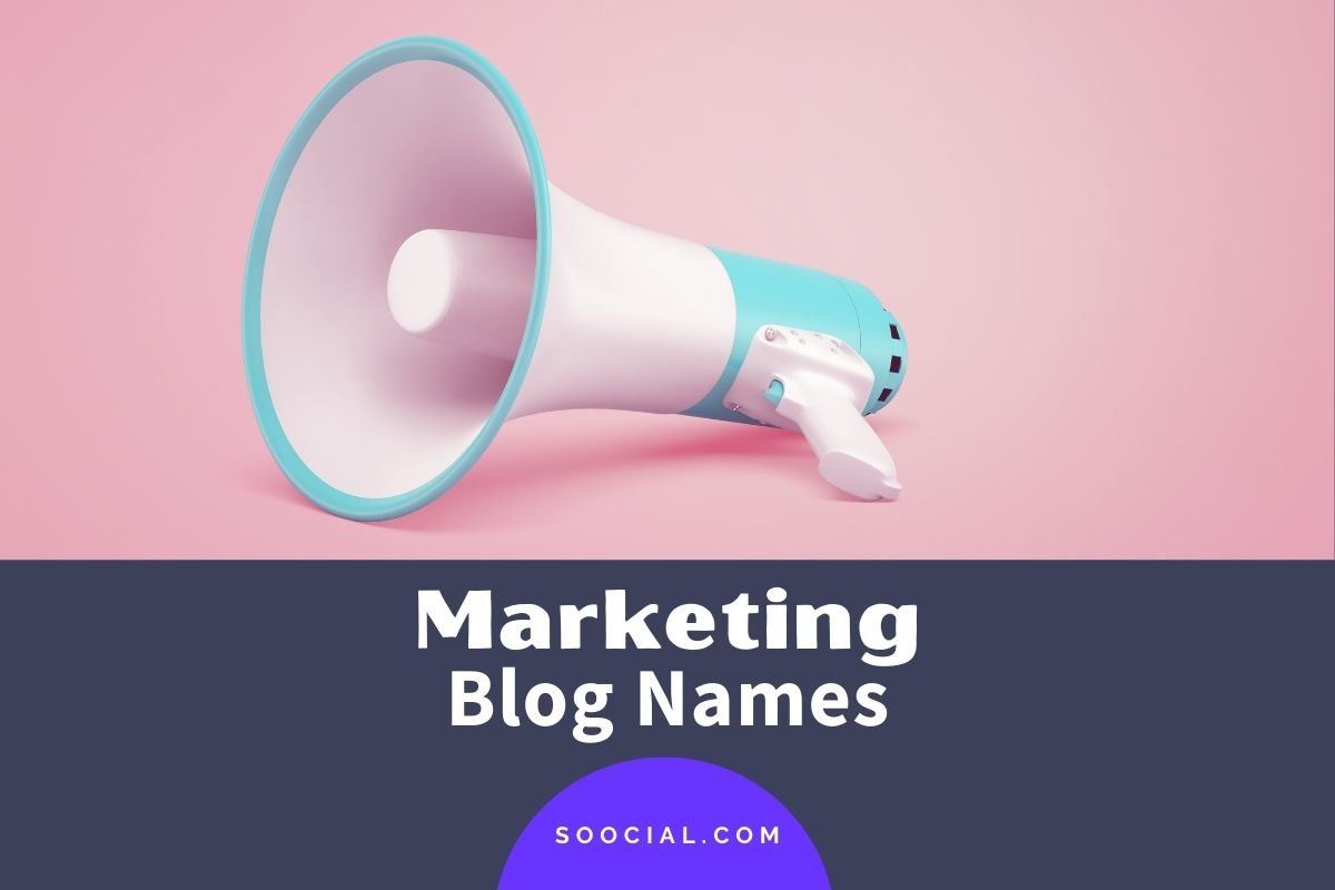 Marketing Blog Names