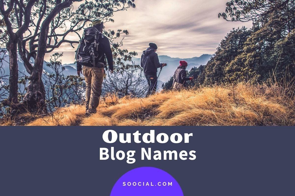 Outdoor Blog Names