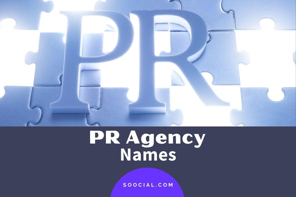 PR Agency Names