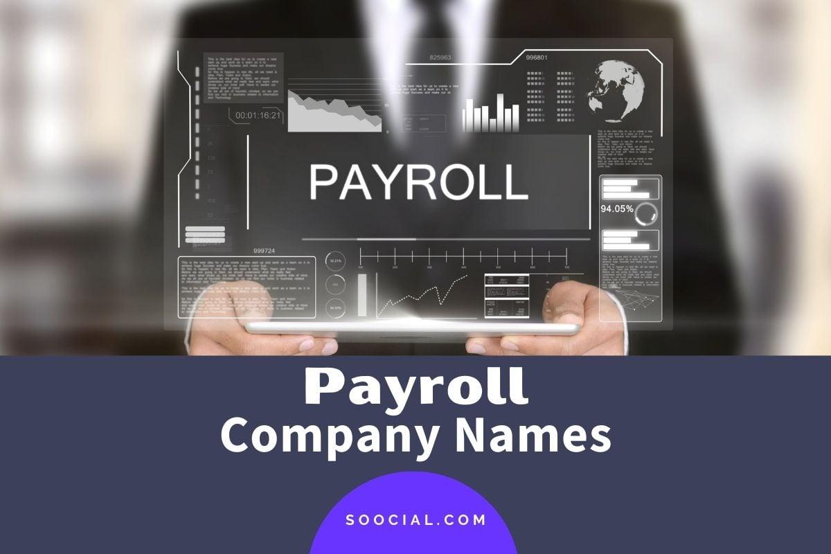 Payroll Company Names