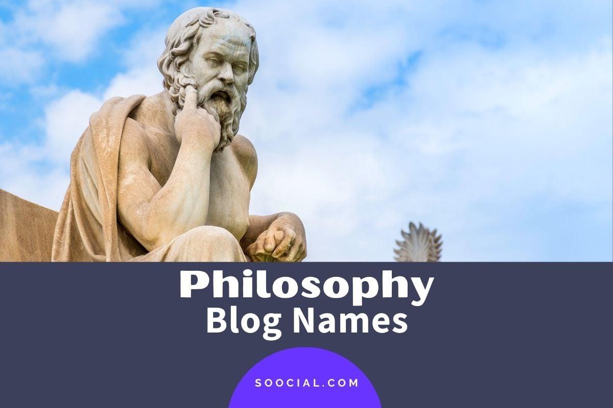 Philosophy Blog Names