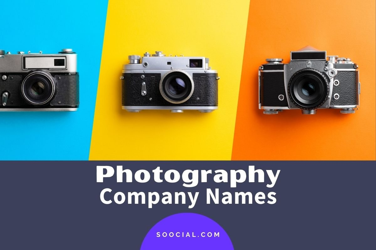 Photography Company Names