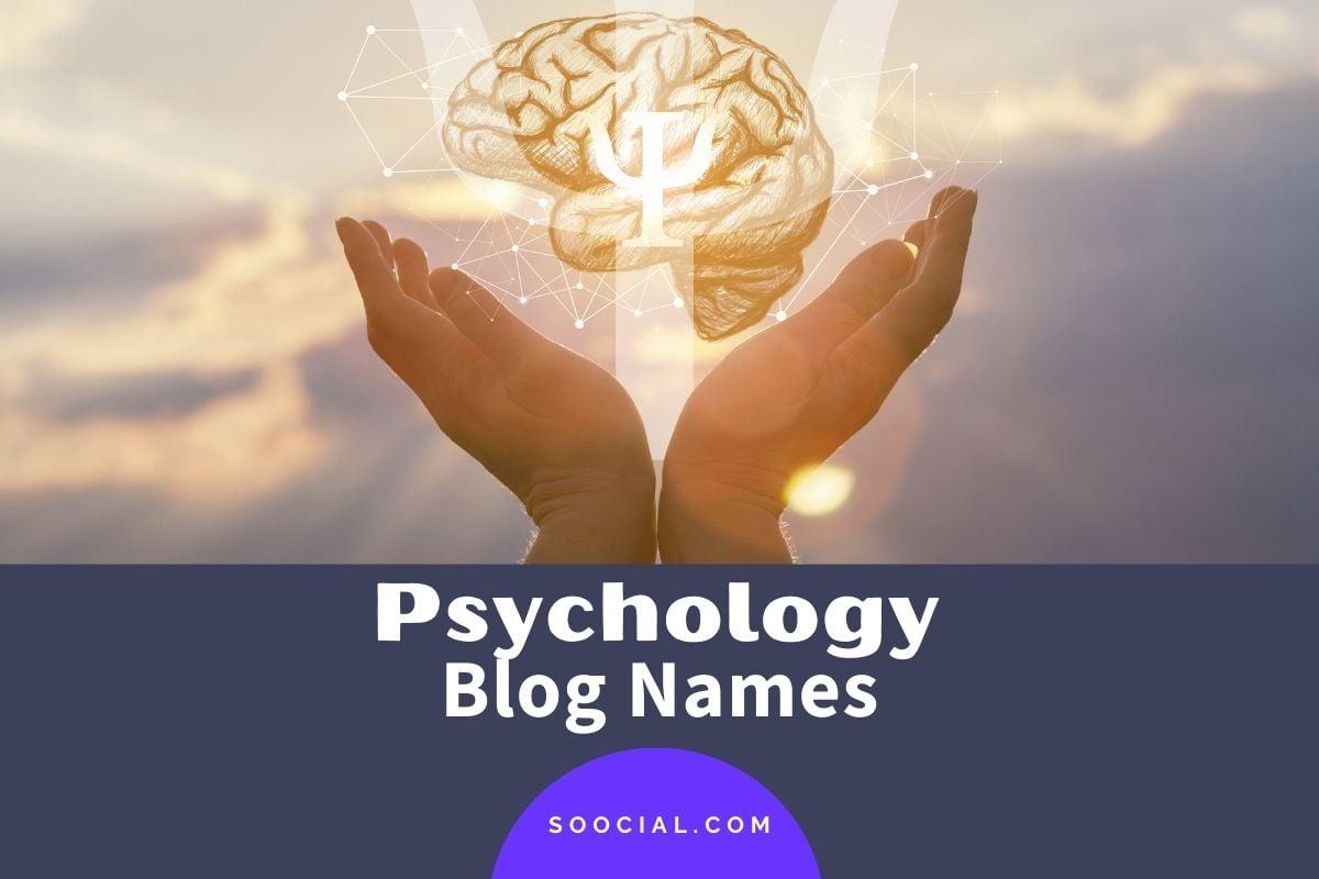 Psychology Blog Names