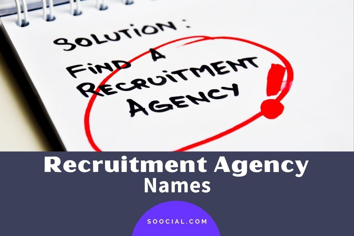 Recruitment Agency Names