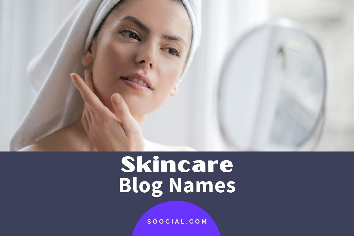 Skincare Blog Names