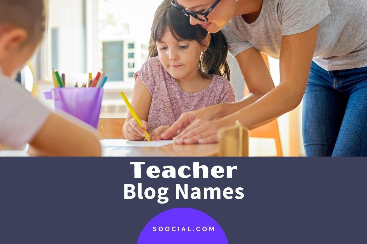 Teacher Blog Names