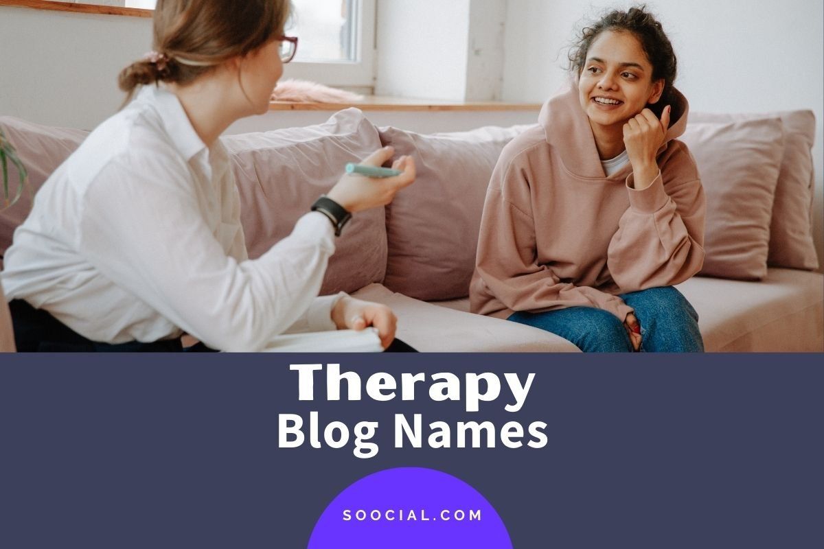 Therapy Blog Names