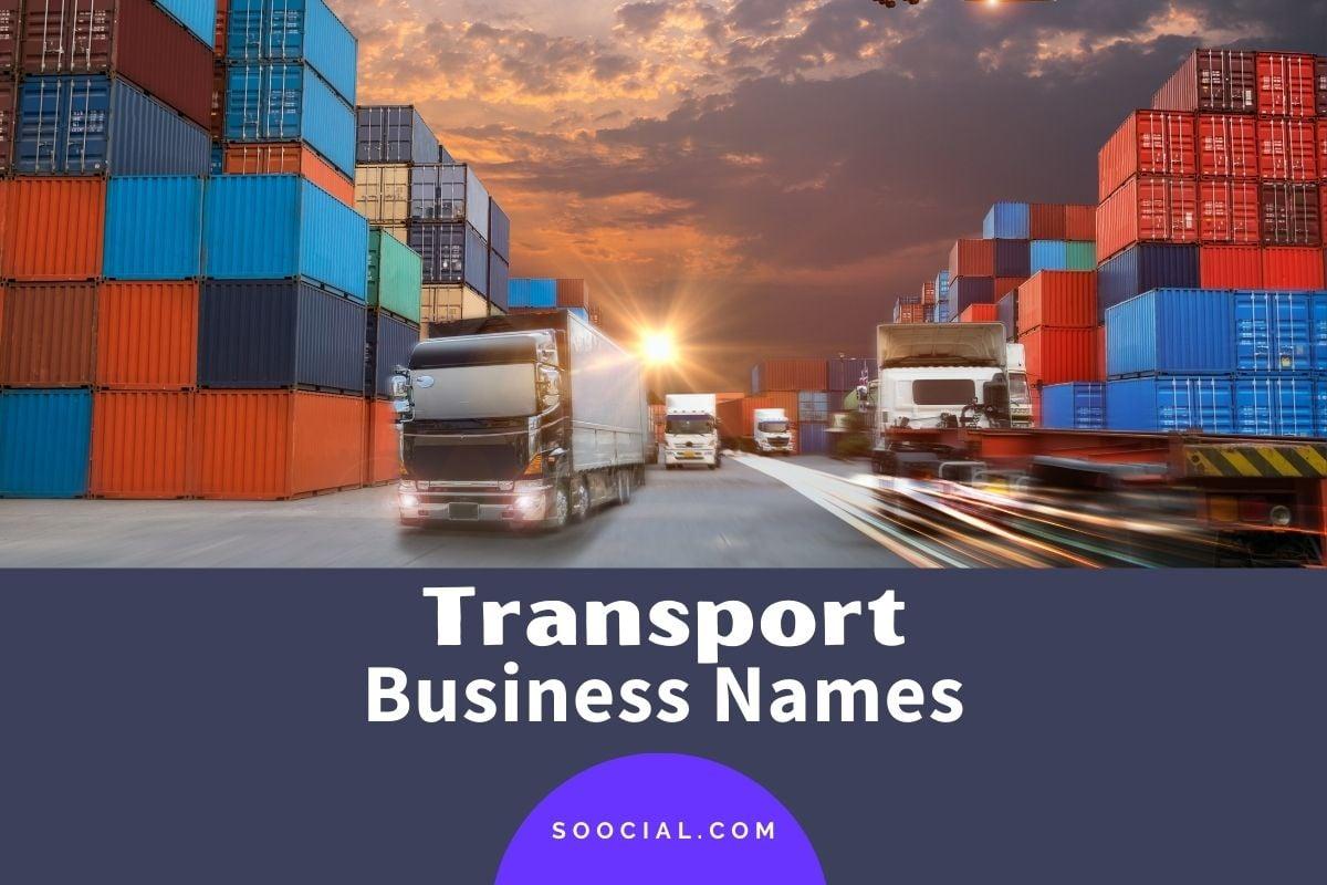 Transport Business Names