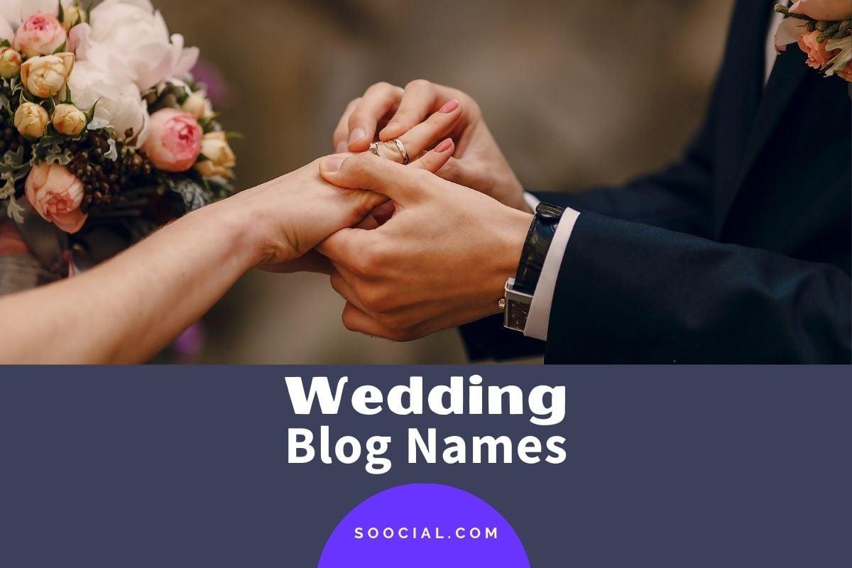 Wedding Blog Names