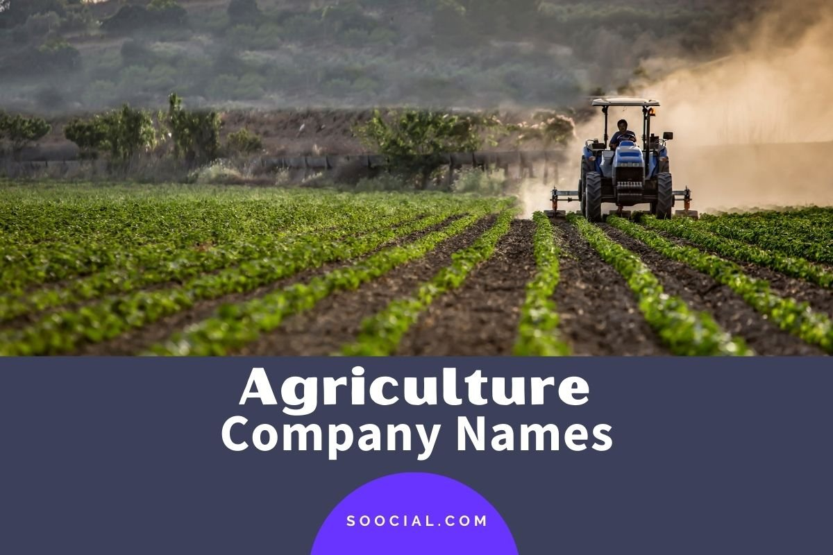 Agriculture Company Names