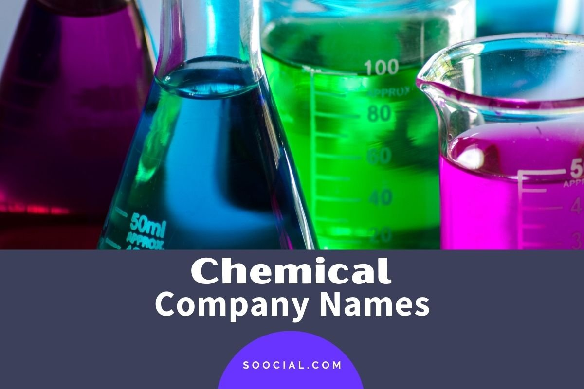 Chemical Company Names