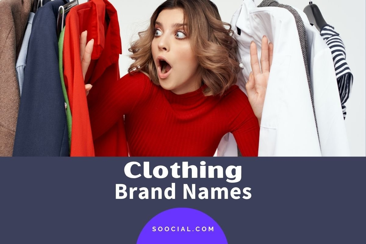 Clothing Brand Names