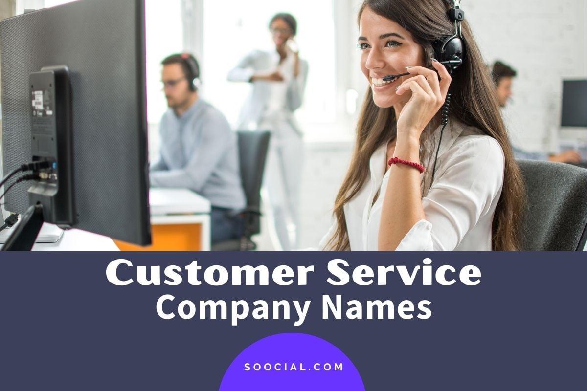 Customer Service Company Names