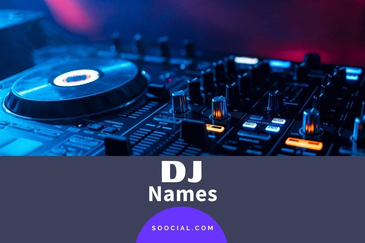 DJ Names