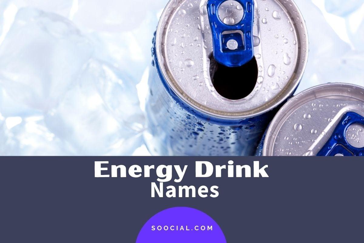 Energy Drink Names