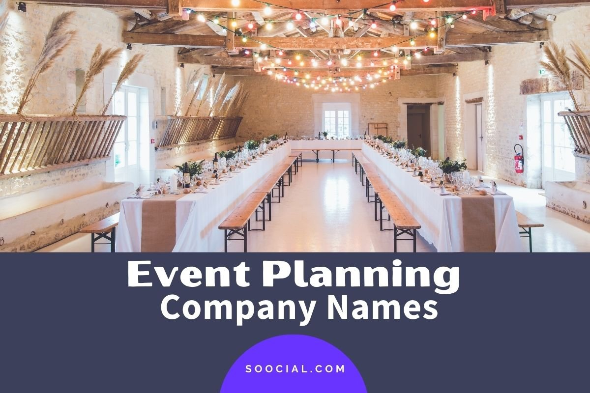 Event Planning Business Names