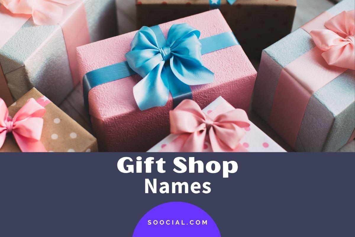Gift Shop Names