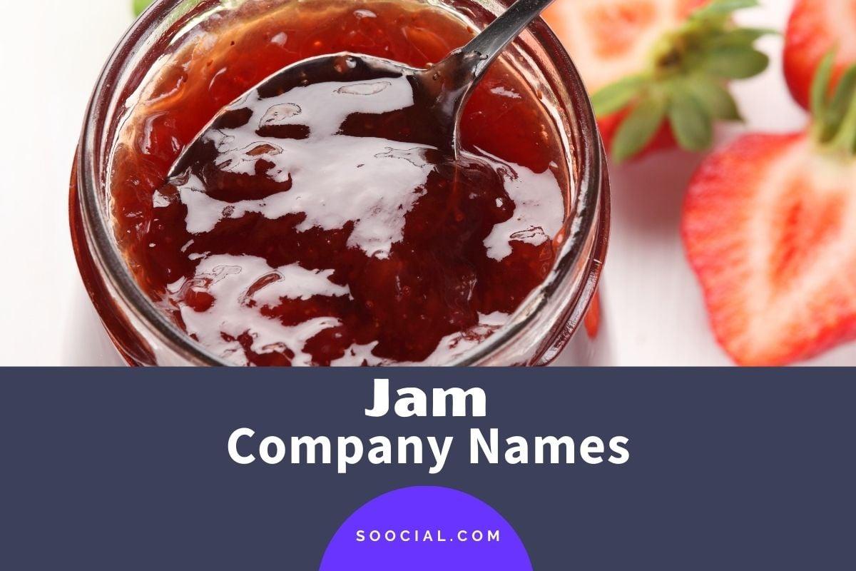 Jam Company Names