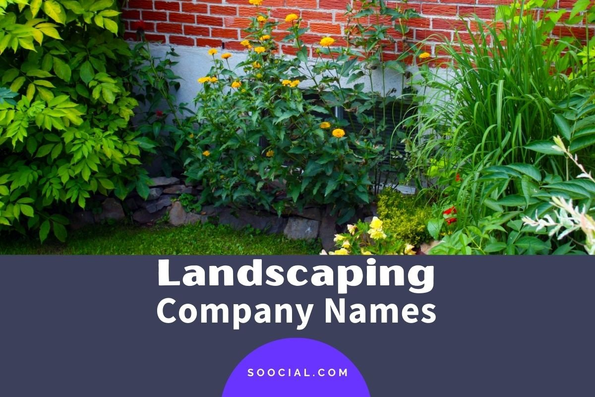 Landscaping Company Names