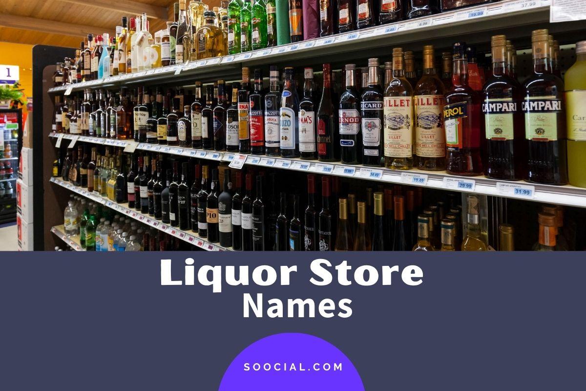Liquor Store Names