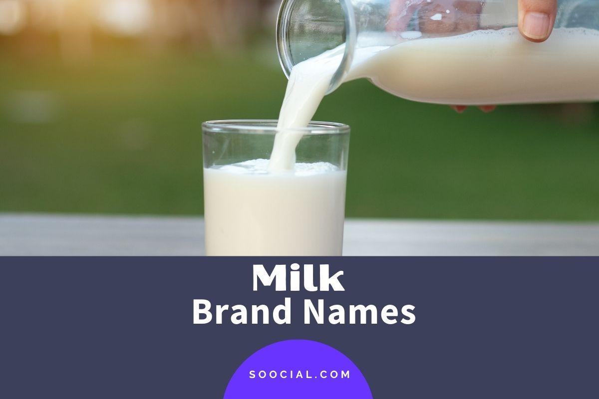 Milk Brand Names