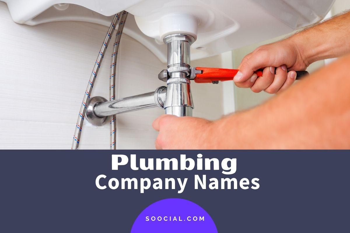 Plumbing Company Names