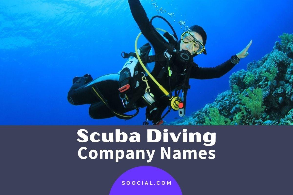 Scuba Diving Company Names