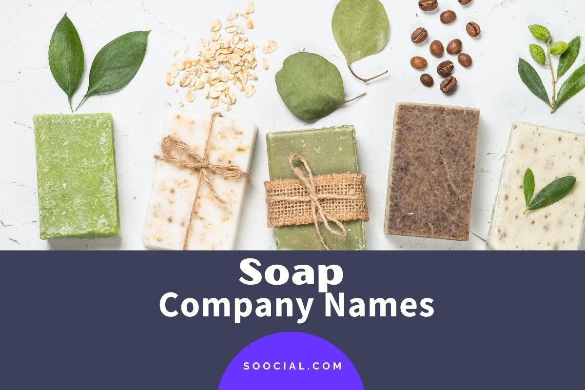 Soap Company Names