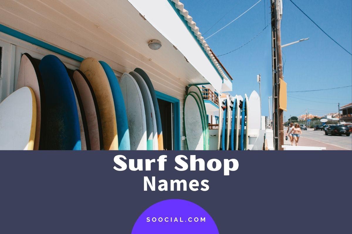Surf Shop Names