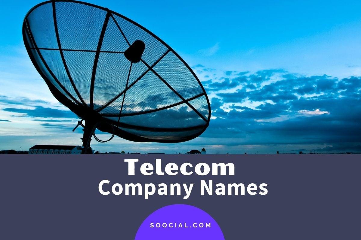 Telecom Company Names