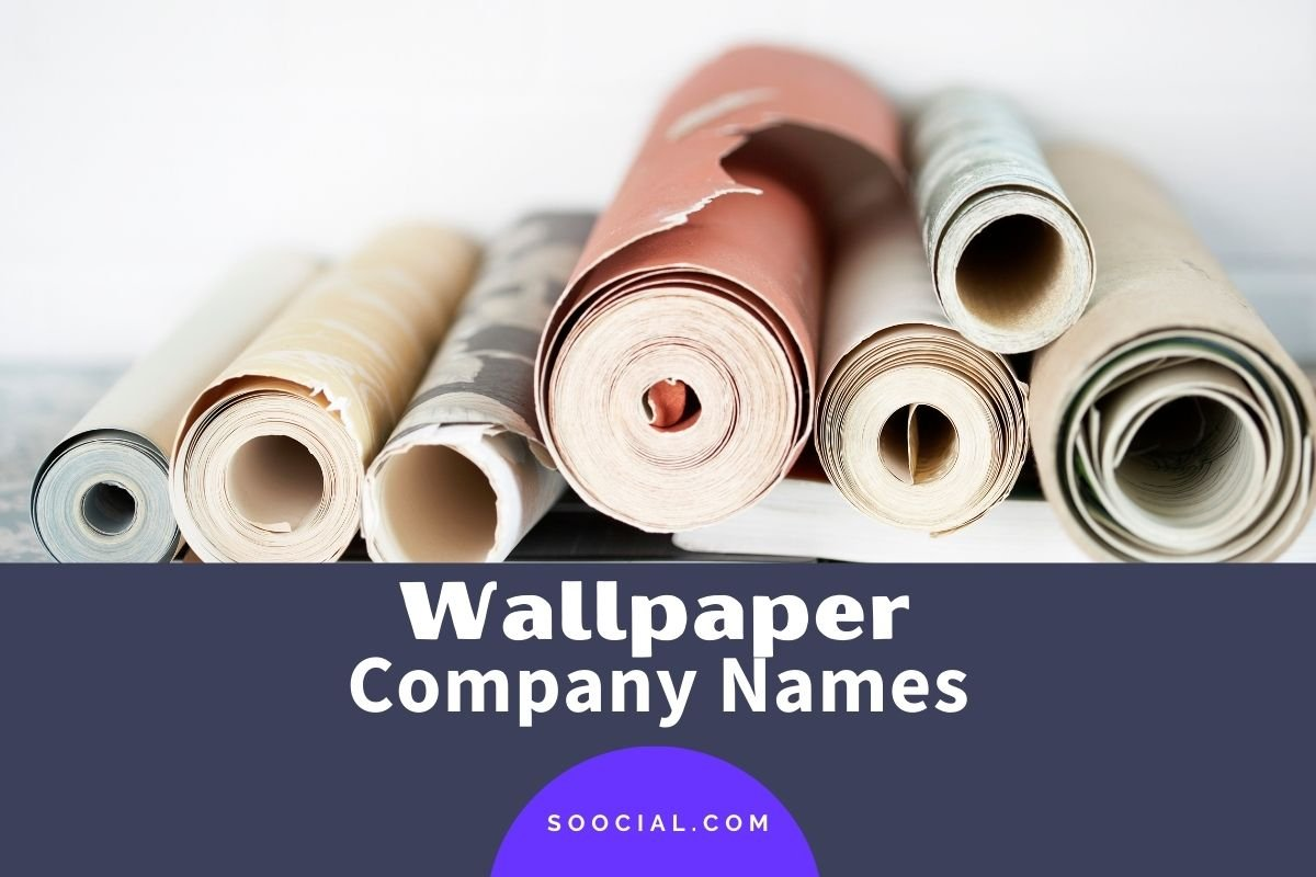 Wallpaper Company Names