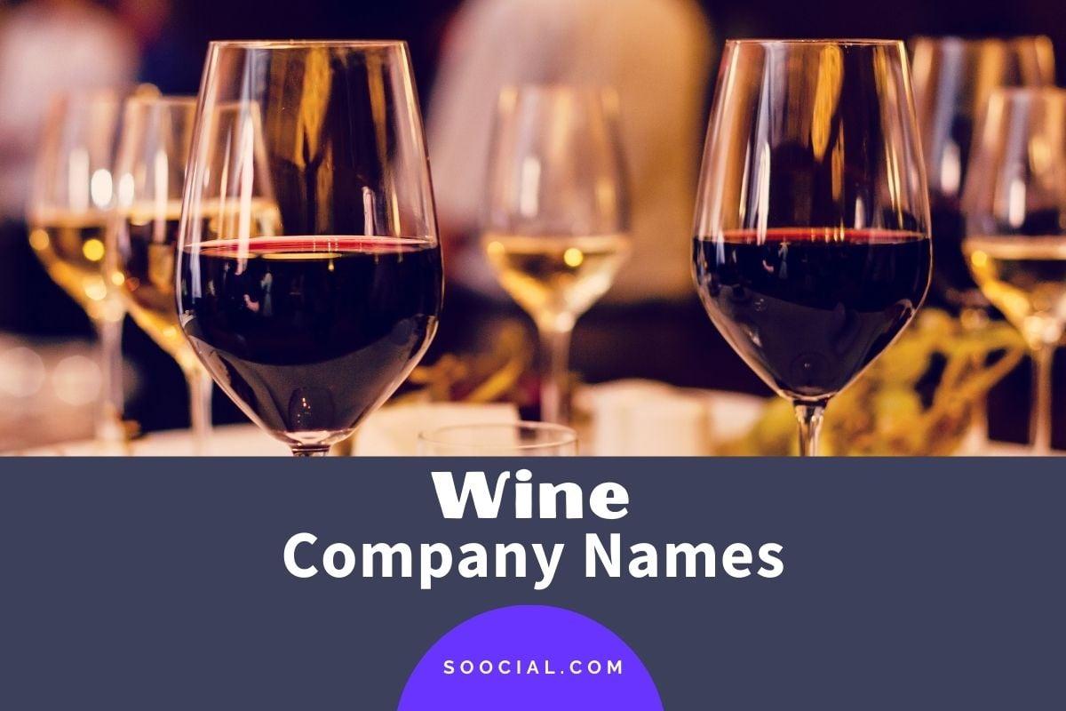 Wine Company Names